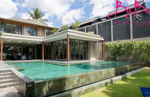 Baba Beachfront Villa [5-Bedroom]